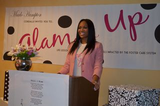 Marlo+Hampton+shares+her+story+with+the+Glam+it+Up%21+young+ladies