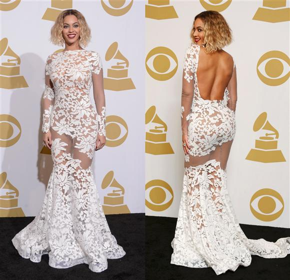 Bey Grammy dress
